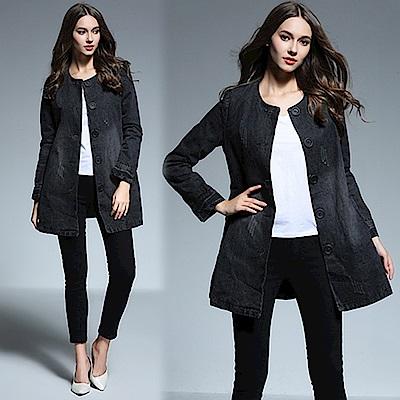 【KEITH-WILL】話題單品清新網花時尚外套
