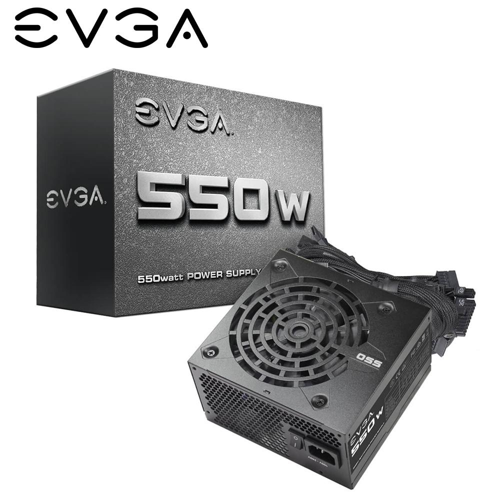 EVGA 艾維克 N1 550W 電源供應器 入門首選 三年保固