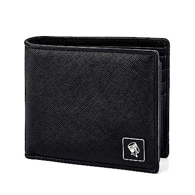 PORTER - 法式時尚 BEND 多夾層橫式皮夾 - 黑