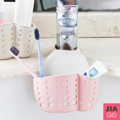 JIAGO 雙層加厚可掛式廚房瀝水掛籃
