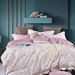 BUTTERFLY-3M專利+頂級天絲-雙人薄床包被套四件組-時光記憶