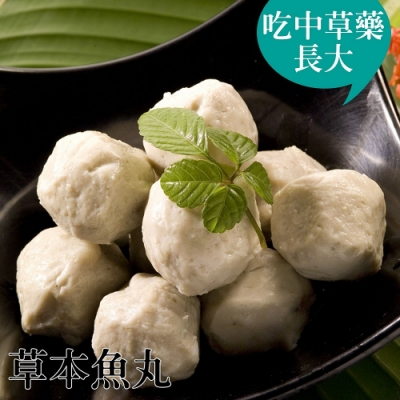 台江漁人港‧草本虱目魚魚丸(半斤/包,共三包)