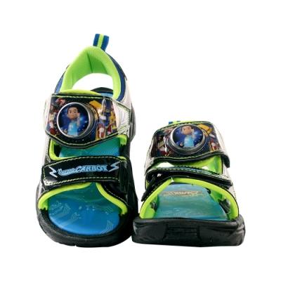 男童台灣製衝鋒戰士閃燈涼鞋 sa06000 魔法Baby