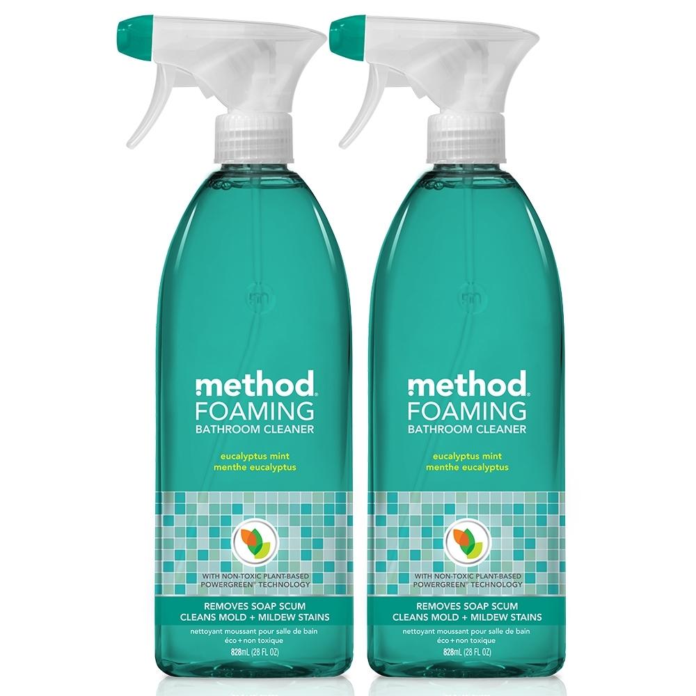 Method 美則浴廁泡沫清潔劑-尤加利薄荷828mlx2