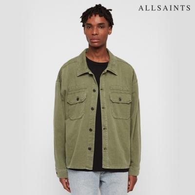 ALLSAINTS KORTEN 素面純棉寬鬆夾克