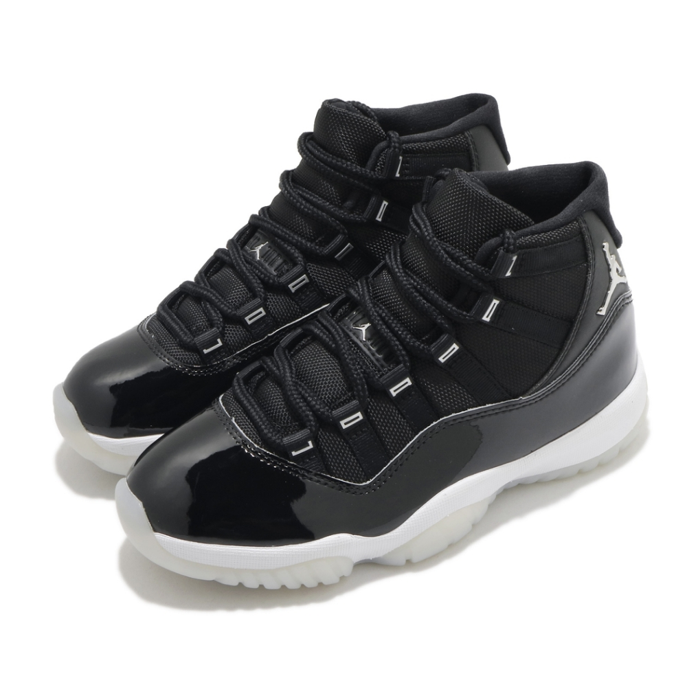 Nike 籃球鞋 Air Jordan 11 Retro 女鞋 經典款 喬丹11代 Jubilee 穿搭 黑 白 AR0715011