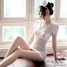 角色扮演 心動小護士三件式角色服 純潔白 XOXOXO