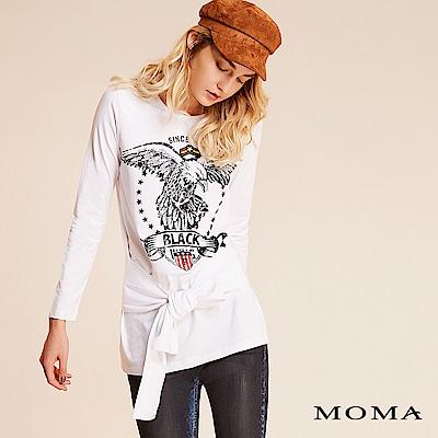 限時商品 | MOMA 老鷹徽章綁結上衣