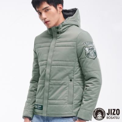 地藏小王 BLUE WAY-地藏閃電壓紋鋪棉外套