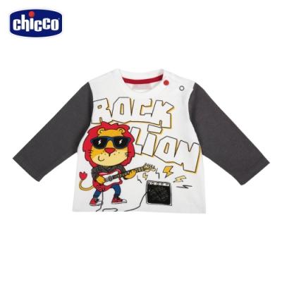 chicco-To Be Baby-搖滾獅子長袖上衣