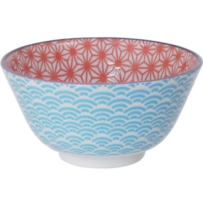 《Tokyo Design》圖騰餐碗(紅12cm)