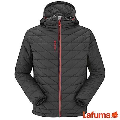 Lafuma 男TRACK防風羽絨保暖連帽外套 黑 LFV111650247