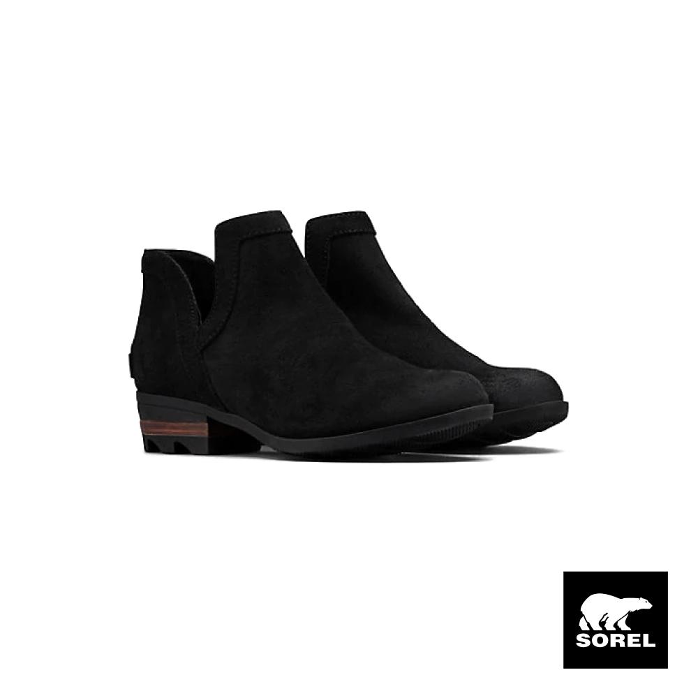 SOREL-女款LOLLA短靴-黑色
