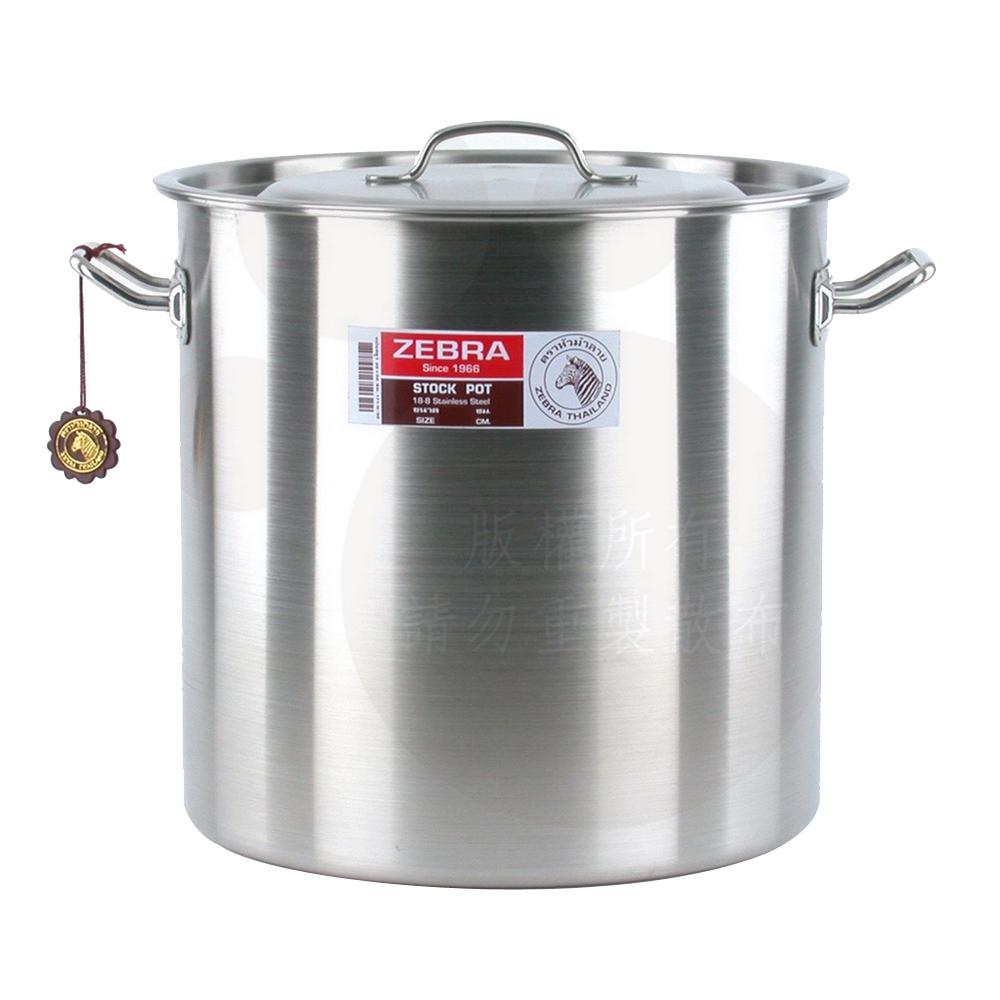 ZEBRA斑馬36公分不鏽鋼深型滷桶/湯鍋(36x36cm/36.6L)