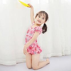 baby童衣 女童 清新連身裙泳裝 附泳帽 y7053