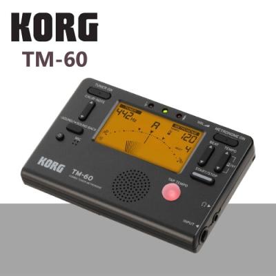 KORG TM-60調音節拍器/功能齊全/黑