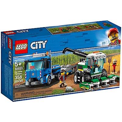 【LEGO樂高】城市系列 60223 收割機運輸車