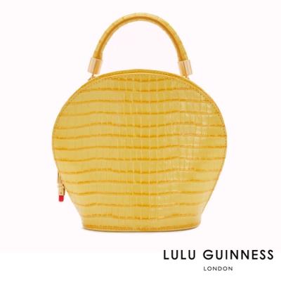 LULU GUINNESS WILLOW 手提/側背包 (黃)