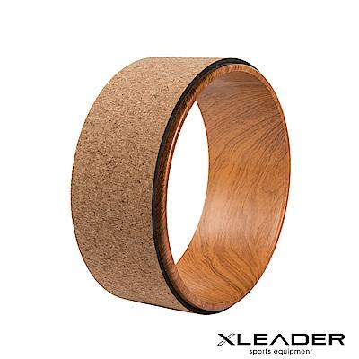 Leader X 專業塑身 後彎伸展輔助軟木瑜珈圈 瑜珈輪
