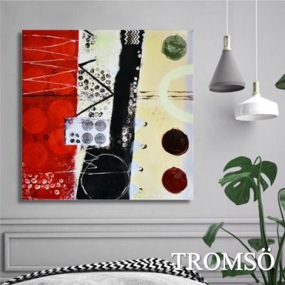 TROMSO百勝藝術立體抽象油畫-W413