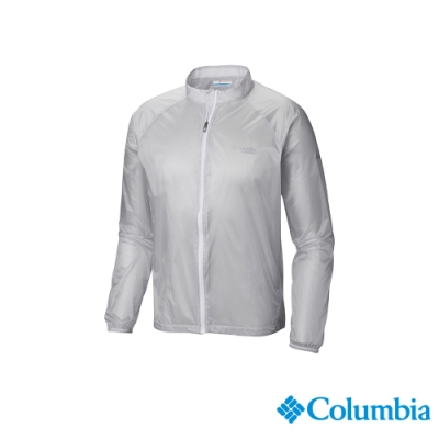 Columbia 哥倫比亞 男款 - 野跑Omni-SHIELD輕量防潑水風衣-灰色 UAE06980