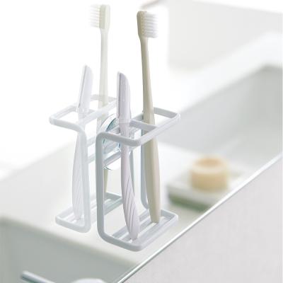YAMAZAKI MIST吸盤式牙刷架