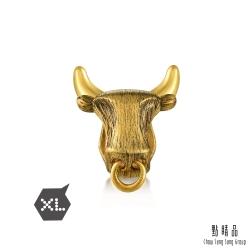 XL 個性金牛 黃金串珠