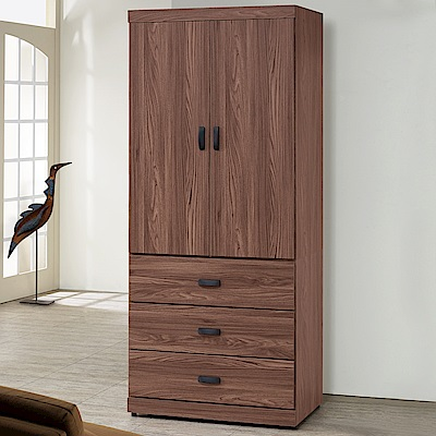 Homelike 達倫3x7衣櫃-84x54x203cm