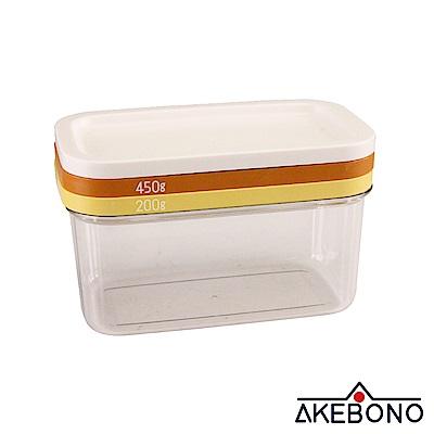 曙產業AKEBONO 奶油切割分片器組-雙層-200g/450g-日本製