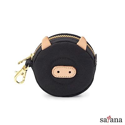 satana - Soldier 豬滿福包 - 黑色