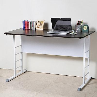 Homelike 亞瑟120cm美型書桌(白腳)-120x60x74cm