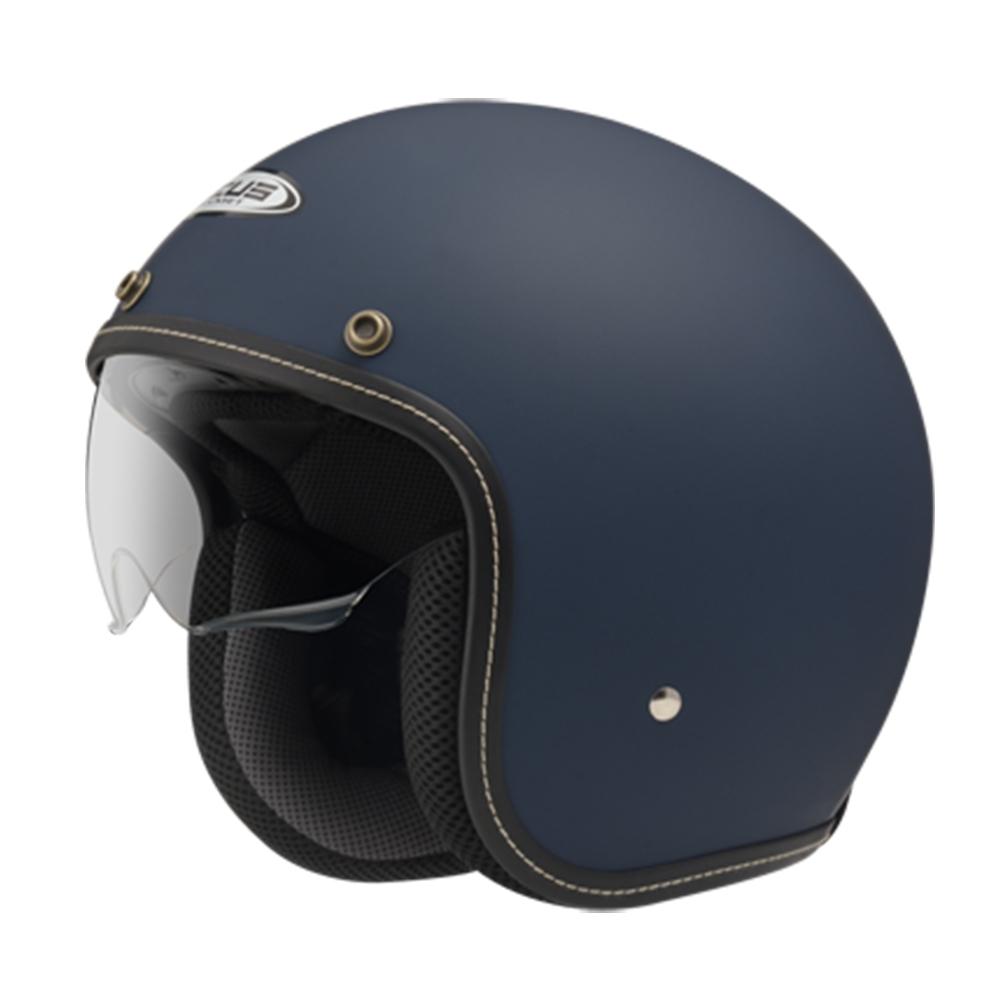 【ZEUS】388A 素色 3/4罩 騎士帽(安全帽│機車│內襯│半罩│內藏墨鏡│可加購鏡片 GOGORO)
