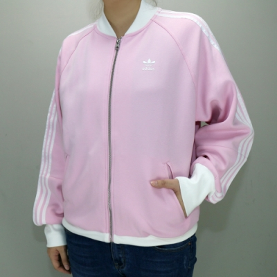 ADIDAS OUTLAYER JACKET 女 休閒外套 粉