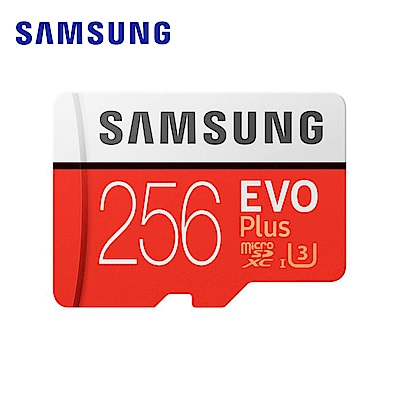 Samsung EVO Plus microSDXC 256GB 高速記憶卡 @ Y!購物