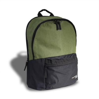 New Balance 後背包 NB Backpack 男女款 紐巴倫 雙肩背包 上學 基本款 綠 黑 EQ03070MOG2