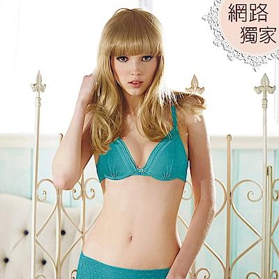 瑪登瑪朵-Soft Life零脊心內衣  B-D罩杯(濃情綠)