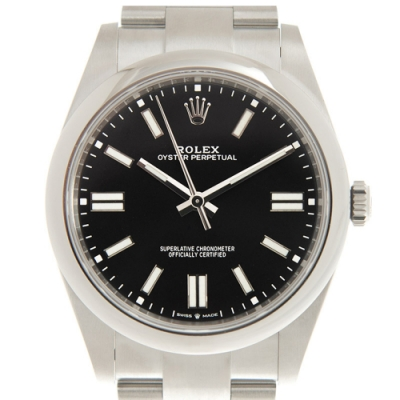 ROLEX 勞力士 124300 Oyster Perpetual蠔式經典黑面x 41mm