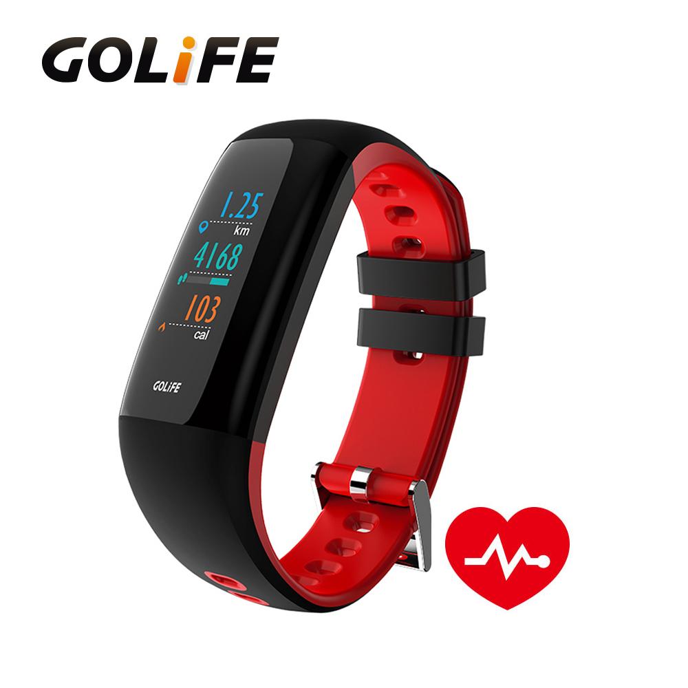 GOLiFE Care-XC 智慧全彩觸控心率手環