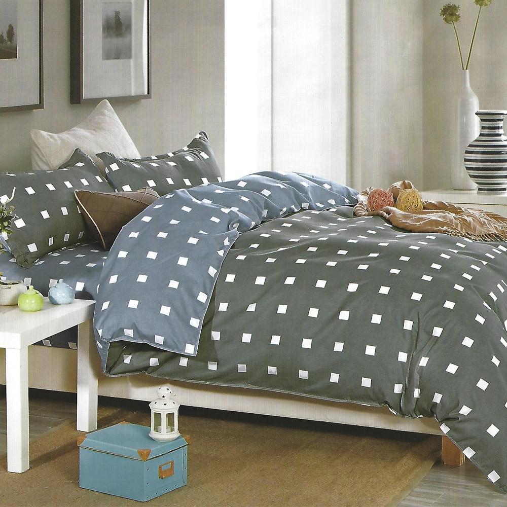 LAMINA 科拉 雙人四件式 柔絲絨兩用被床包組
