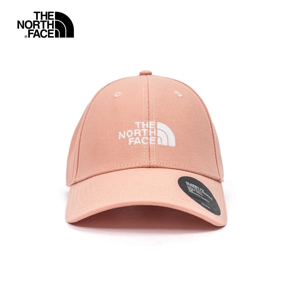 The North Face北面男女款粉色棒球帽 4VT4R13