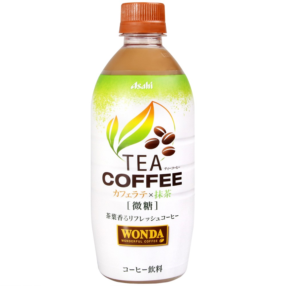 ASAHI WONDA咖啡-抹茶風味(525ml)
