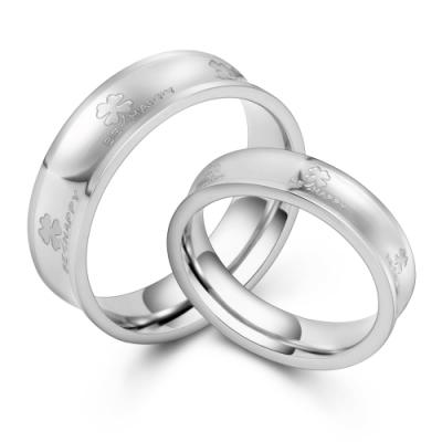 GIUMKA情侶對戒 白鋼戒指男戒+女戒 幸福年代 一對價格