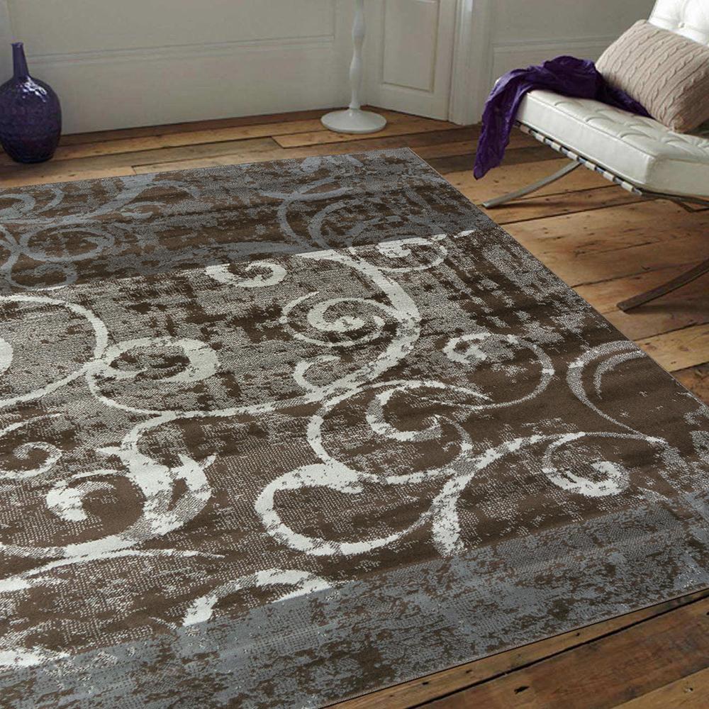 Ambience 比利時Shiraz 時尚地毯-復古藤蔓 160x230cm