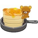 拉拉熊洋食漢堡店系列文具收納盒玩。懶熊鬆餅。小物盒San-X