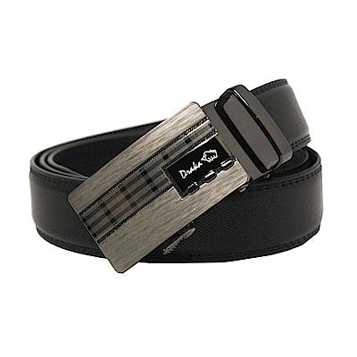 DRAKA 達卡 - 商務簡約真皮自動皮帶-41DK851-6303