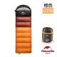 Naturehike 升級版 U350全開式戶外保暖睡袋 橙色-急 product thumbnail 2