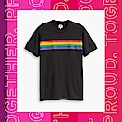Levis 男女同款 短袖T恤 Pride平權系列 彩虹條文 布章Logo