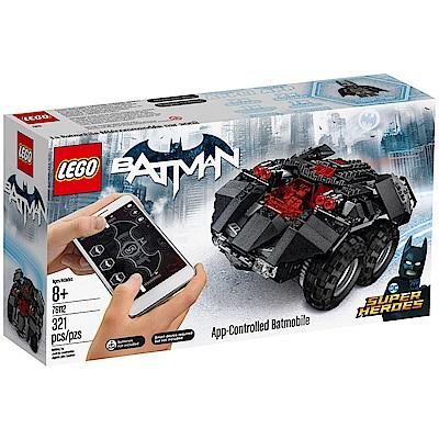 樂高LEGO 超級英雄系列 - LT76112 App-Controlled Batmob