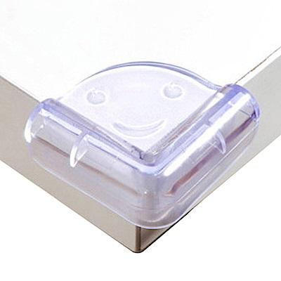 防撞角 兒童安全笑臉透明球型桌角防護-20入裝