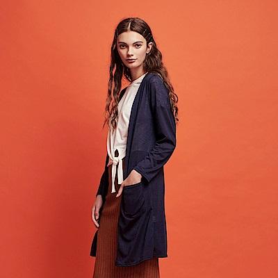 CACO-雙口袋開襟外套-女【RSH180】